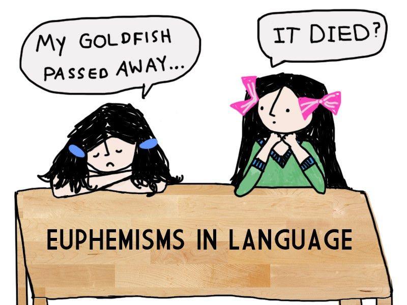 Euphemisms in language | Unravel Magazine