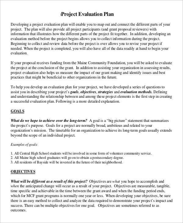 Sample Plan - 43+ Examples in Word, PDF