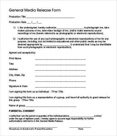 Free General Release Of Liability Form Template [Template ...