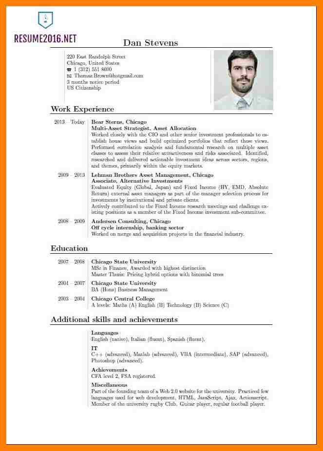 recent resume format resume examples for recent college graduates