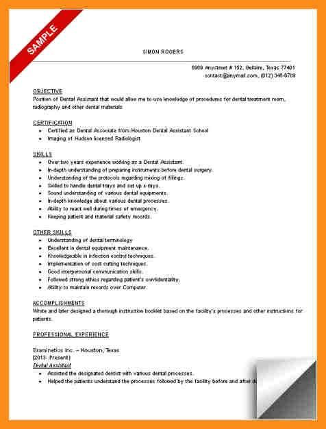 12+ dental assistant resumes | resume setups