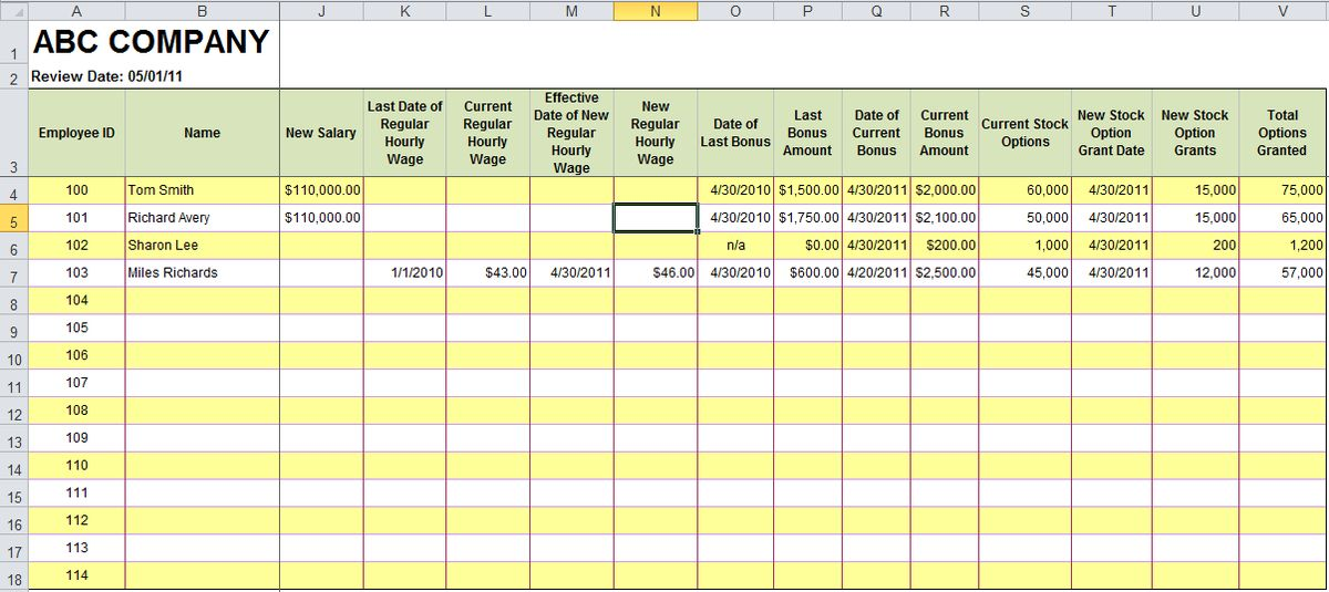 Free Excel templates for Payroll, Sales Commission, Expense ...