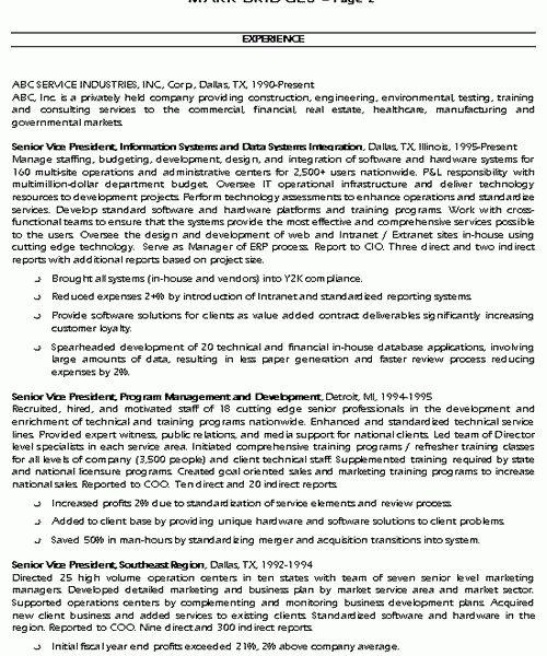 resume resume example uts cio resume example sample resumes cv ...