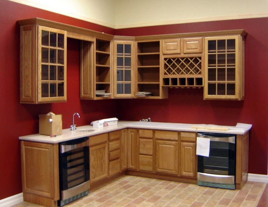 Kitchen : Sample Of Classic Design Of Cupboard In Kitchen 2017 ...