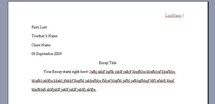 essay in proper mla format essay mla essay format template essay