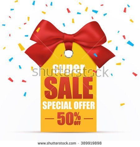 Super Sale Poster Template Vector Illustration Stock Vector ...