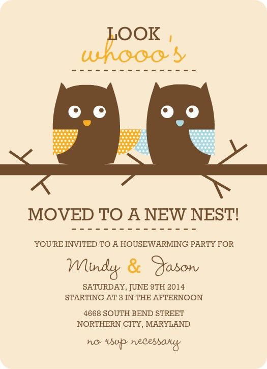 Housewarming Invitation Templates | Best Template Collection