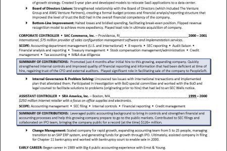 Board Of Directors Resume Sample - Reentrycorps