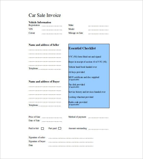 Sales Invoice Template - Free Word Excel PDF Download | Free ...