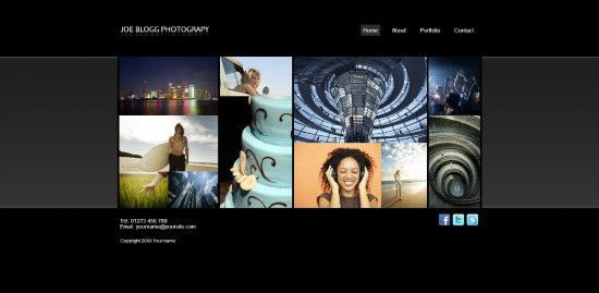 9 great website templates for photography - Moonfruit Blog