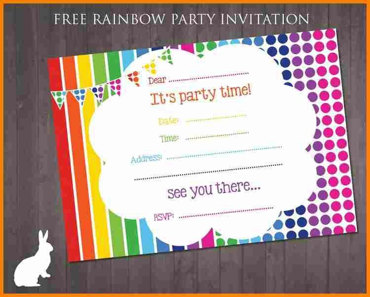 8+ free birthday invitation template | budget template