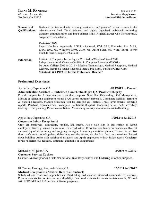 apple resume templates