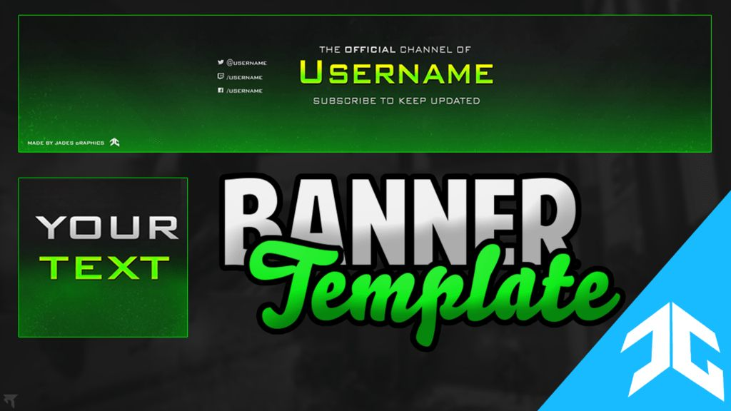 Free Youtube Banner Templates   Youtube Network No Lock-In Partnership