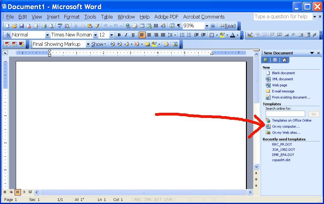 2003 Word Templates - Contegri.com