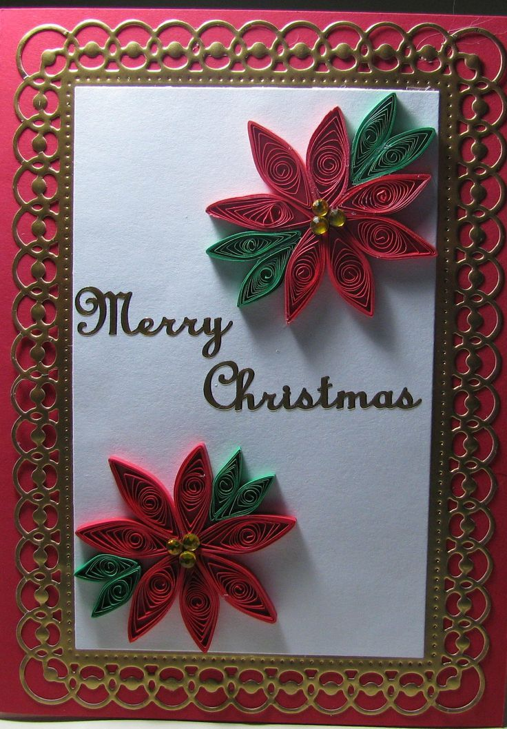 20 best Quilled cards images on Pinterest | Quilling christmas ...
