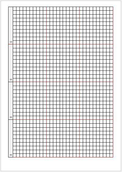 Ms Word Graph Paper - formats.csat.co