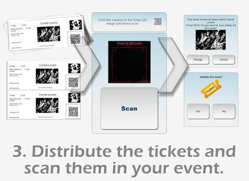 Ticket creator and scanner Download - Ticket creator and scanner ...