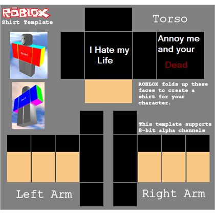How to make shirts and pants roblox wiki roblox shirt template roblox pronofoot35fo Gallery