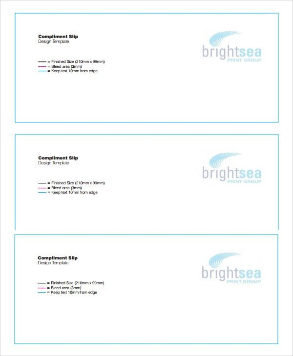 Permission Slip Template Word Sample Permission Slip 14 Documents – Compliment Slip Template