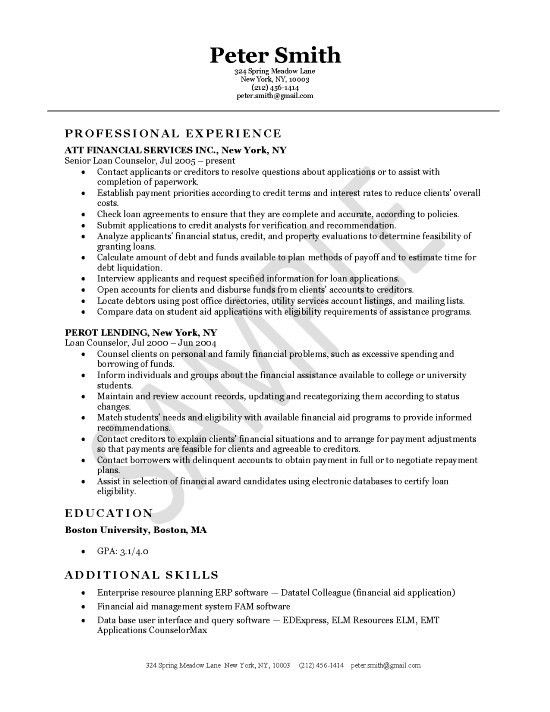 25 Qualified Mortgage Closer Resume Examples to Inspire You ...