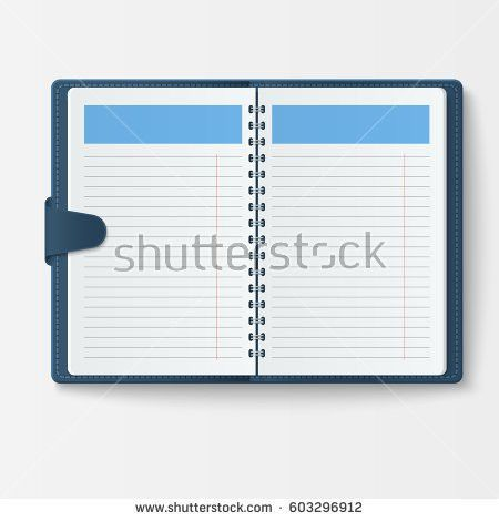 Diary Page Stock Images, Royalty-Free Images & Vectors | Shutterstock