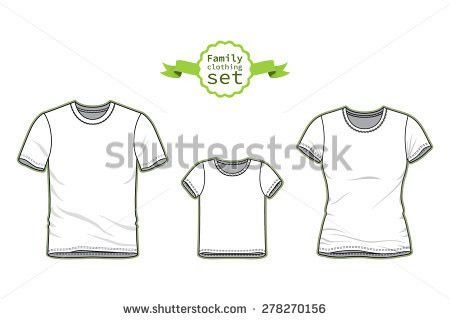 Clothing Set Blank Templates Baby Bodysuits Stock Vector 278270081 ...