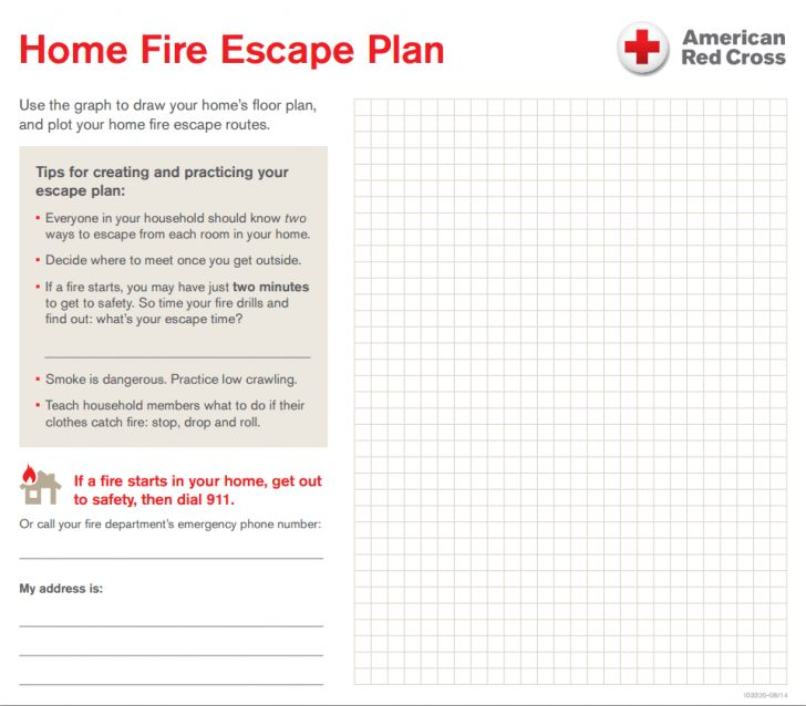Home Design Emergency Drill Template Disaster Plan | kevrandoz