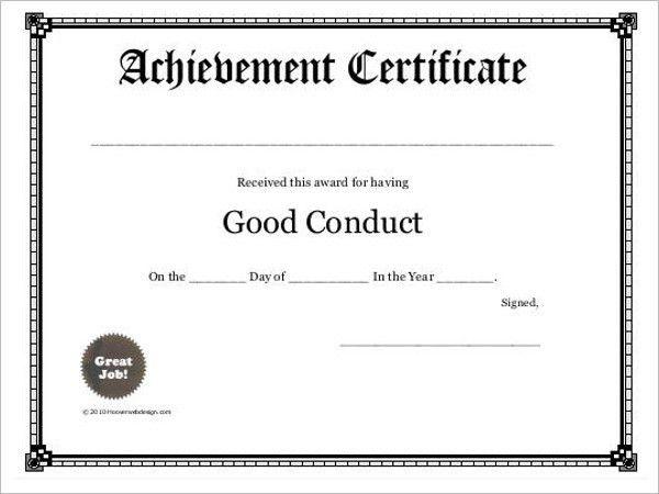 Free Printable Certificate Templates || Free Templates | Creative ...