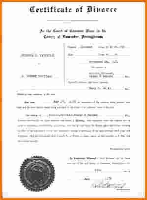 7 divorce papers pa | Divorce Document