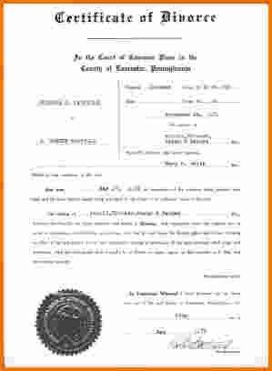 7 divorce papers pa | Divorce Document