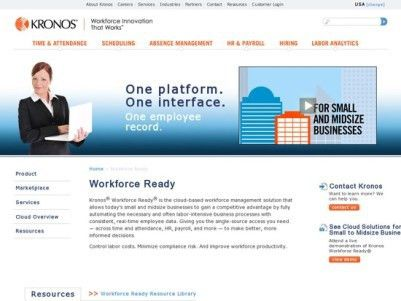 What is Kronos Workforce Ready? Read 2017 Reviews | ITQlick.com