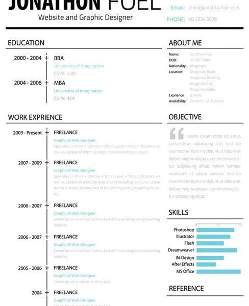 Best 25+ Resume Template Free Ideas On Pinterest | Free CvFree ...