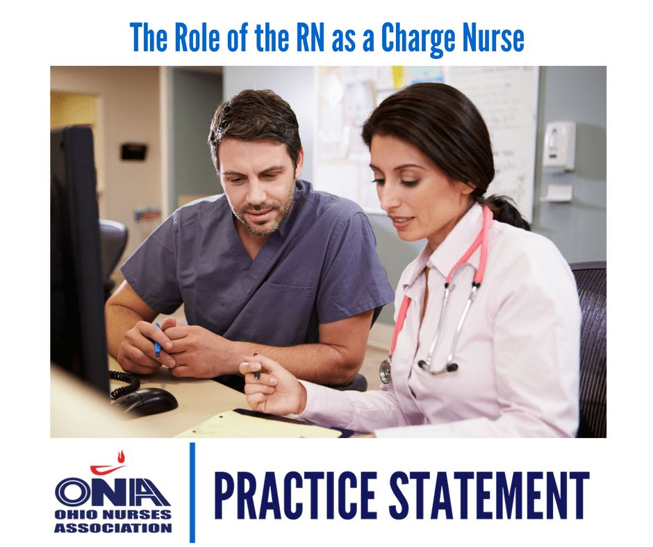 The Role of the Registered Nurse as Charge Nurse - Ohio Nurses ...
