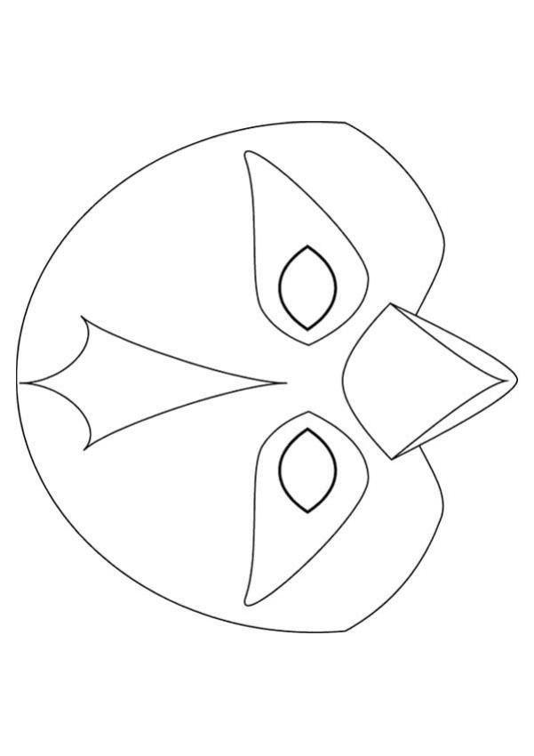 free printable animal masks templates | television big bird mask ...