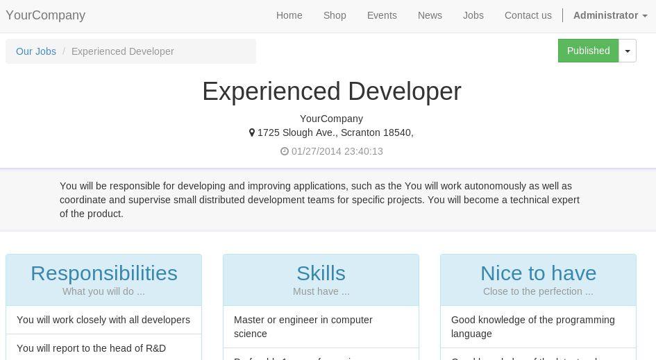 Online Jobs | Odoo Apps