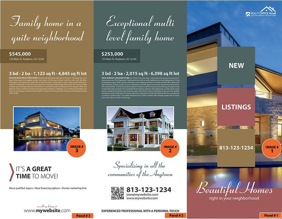 Real Estate Brochure Printing | Realtor Brochure Printing