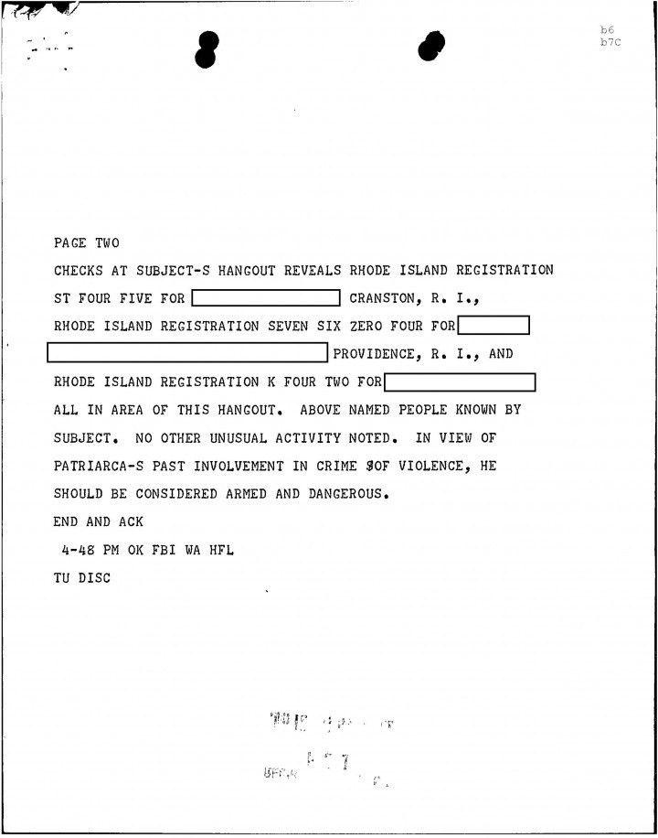Fbi letter of recommendation