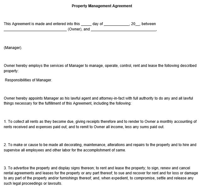 6 Best Photos of Property Removal Form Template - Personal ...