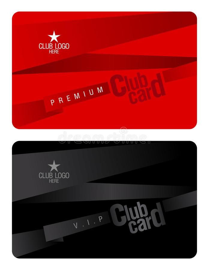Club Card Design Template. Royalty Free Stock Images - Image: 22752709