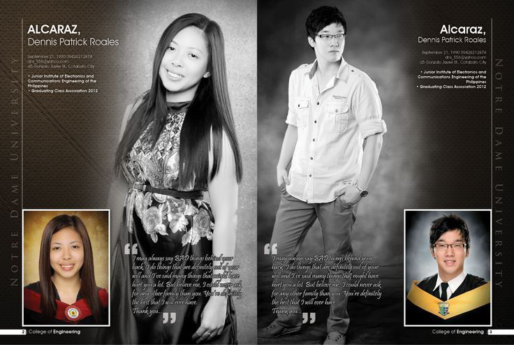 yearbook sample layouts | Graphics and Designs | Pinterest ...