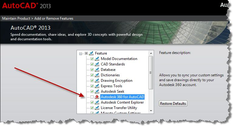 Solved: Disable Autodesk 360 - Autodesk Community