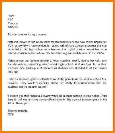 7+ teacher recommendation letter template | sample of invoice