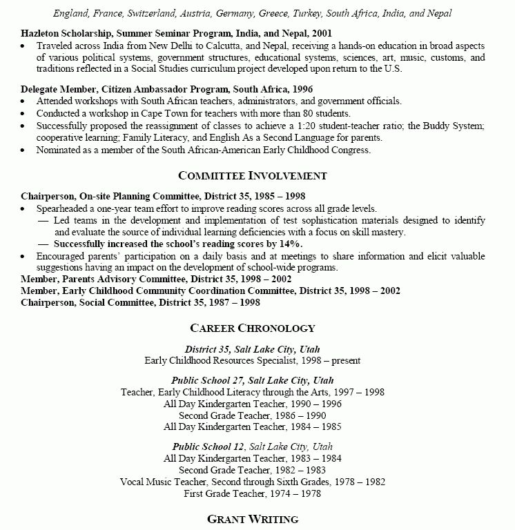 100+ [ Music Education Resume ] | Music Educator Resume Free ...