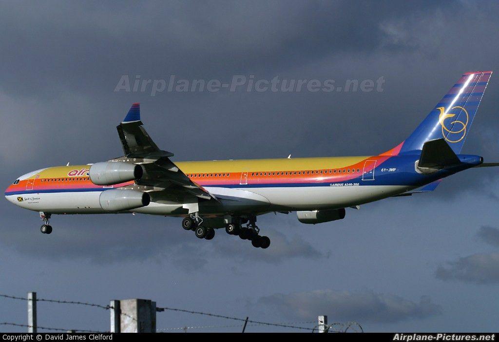 6Y-JMP - Air Jamaica Airbus A340-300 at London - Heathrow   Photo ...