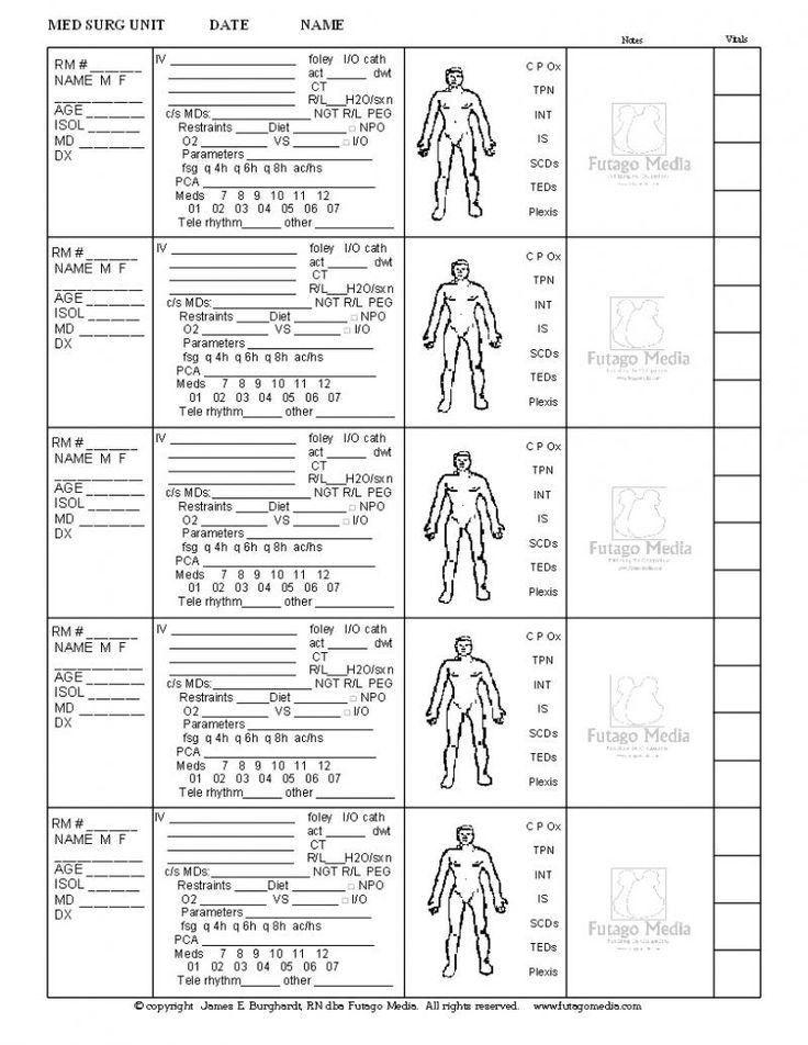 The 25+ best Nurse brain sheet ideas on Pinterest | Nurse report ...