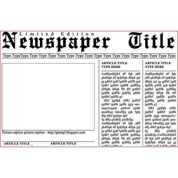 Newspaper Layout Templates: Excellent Sources To Help You Design .