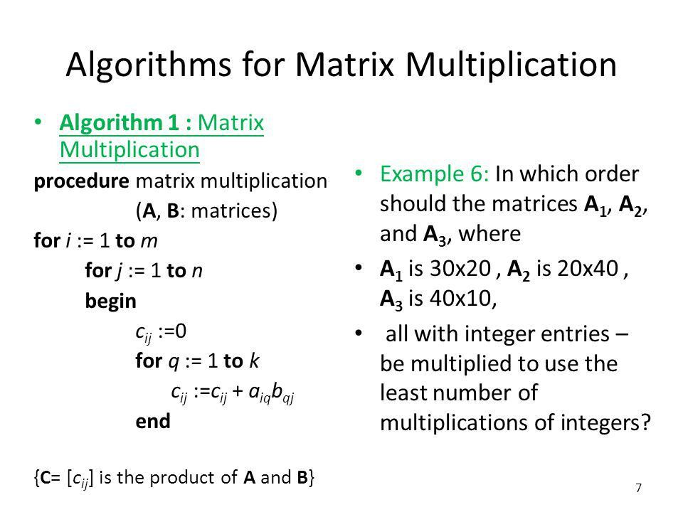Chapter Matrices Matrix Arithmetic - ppt video online download
