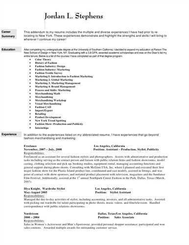 Retail , Cosmetics , Personal Shopper Resume Results