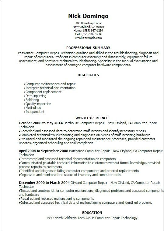 Computer Technician Jobs Amp Job Description Career Step For ...