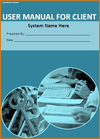 11+ instruction manual template | Job Resumes Word